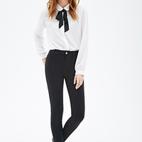 Classic Stretch-Knit Skinny Pants
