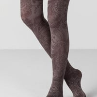 Willow Paisley Tights