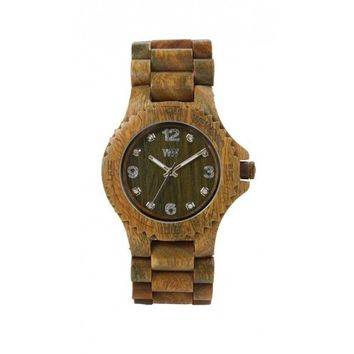 Wewood Army Green Deneb Wood Wooden Watch