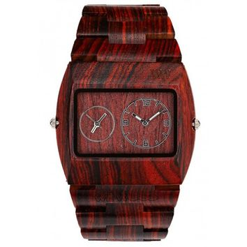 Limited Edition WeWood Jupiter Brown Wood Watch