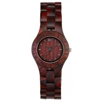 Limited Edition WeWood Moon Brown Wood Watch