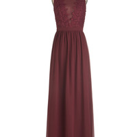 Chi Chi London Long Sleeveless Maxi Elegance Again Dress