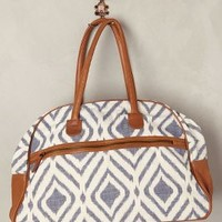 Diamond Ikat Weekender by Rising Tide Fair Trade Blue One Size Bags