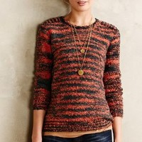Willow Street Pullover by Maison Scotch Orange M Sweaters