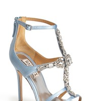 Women's Badgley Mischka 'Giovanna II' Satin Ankle Strap