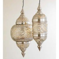 Moroccan Hanging Lamp - VivaTerra