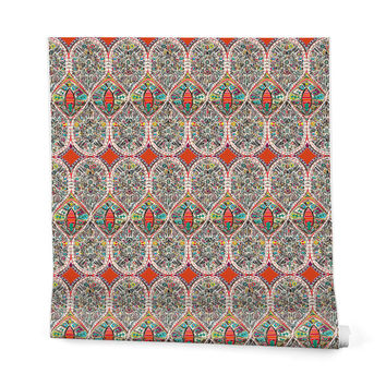Sharon Turner Holly Wrapping Paper - 2' x 10' Roll