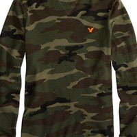 AEO Men's Factory Solid Thermal (Camo Print)