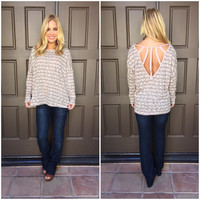 Catch the Rays Knit Sweater Top