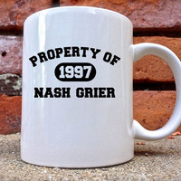 NASH GRIER Mug is beautifully and uniquely designed on a white coated ceramic.