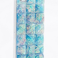 Glass Embellished iPhone 5 Case in Blue - Urban Outfitters