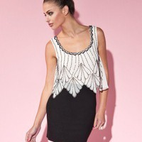 Lipsy Deco Vest Dress