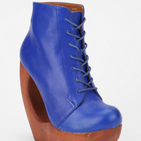 Jeffrey Campbell Roxie Rockaway Lace-Up Boot