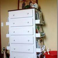 GENIUS / Ikea Hack | spice racks from Ikea on a chest of drawers