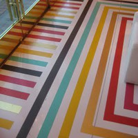 Flooring rainbow inspiration!