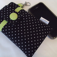 Cell phone cover / iPhone case / Droid / HTC / Motorola Triumph / ready to ship / Polka Dots