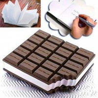 Chocolate Notepad - Office Supplies - Home&Decor