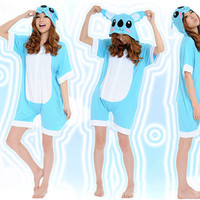 Sweet Koala Blue white Cotton Kigurumi Costume Animal Pajamas [C20120723] - £29.31 : Zentai, Sexy Lingerie, Zentai Suit, Chemise