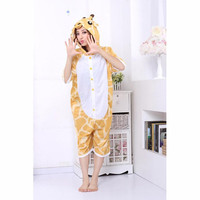 Yellow White Giraffe Cotton Kigurumi Costume Animal Pajamas [C20120729] - £29.44 : Zentai, Sexy Lingerie, Zentai Suit, Chemise