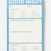 Good Night Notepad - Anthropologie.com