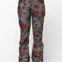 Torah Bright 10K Shell Birch Pants - Roxy