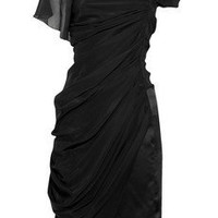 Discount Vionnet Asymmetric silk-crepe dress | THE OUTNET