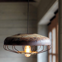 Vintage Chicken Feeder Pendant Light - NapaStyle
