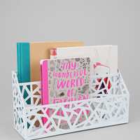 Geo Cutout Letter Storage Bin