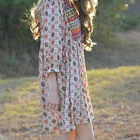 Fall in Love Dress, Taupe :: NEW ARRIVALS :: The Blue Door Boutique