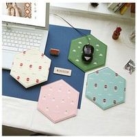 Honey Comb Mouse Pad