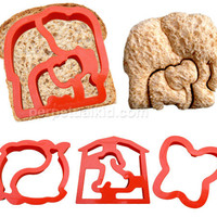 CRITTER CUTTERS SANDWICH CUTTERS