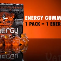 Energy Gummy Bears: Energy-fueled gummi candy