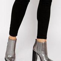 ASOS | ASOS EASY MONEY Pointed Chelsea Ankle Boots at ASOS