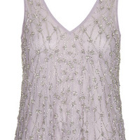 Embellished Swing Top - Lilac