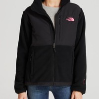 The North Face® Pink Logo Denali Jacket | Bloomingdales's