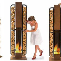 Urban Outdoor Fireplace with an Amazing Decorating for Luxury Home, Urban Outdoor Fireplace with an Amazing Design your home life, Urban Outdoor Fireplace with an Amazing Decoration Photo - Decorshome.Net