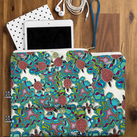 Sharon Turner Turtle Reef Pouch - Structured /