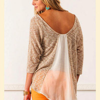 Backwards Glance Sweater