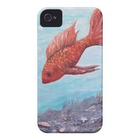 Something is Fishy Iphone casemate ROK IT ART from Zazzle.com