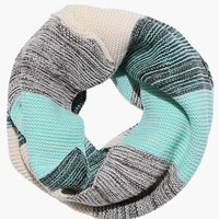 The Classic Stripe Knit Infinity Scarf