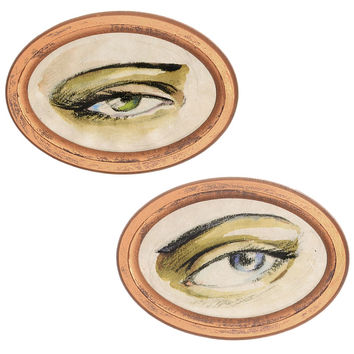 All Eyes On You Wall Art Set