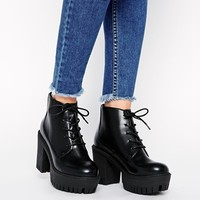 ASOS EMPTY SPACES Ankle Boots