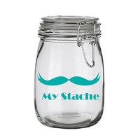 DIY My Stache Moustache Jar
