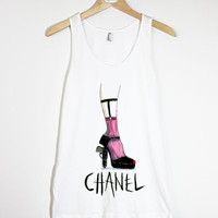 Fashion Chanel- American Apparel Unisex  Fine Jersey Tank Top