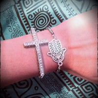 Silver Bracelets from La Fede Boutique