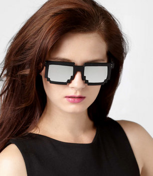 Pixel Frame Sunglasses
