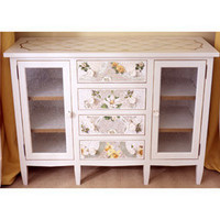 Sophie&#x27;s Mosaic Cabinet - Bookcases &amp; Shelves - Accent Furniture - Furniture - PoshLiving