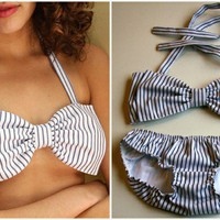 bow bathing suit