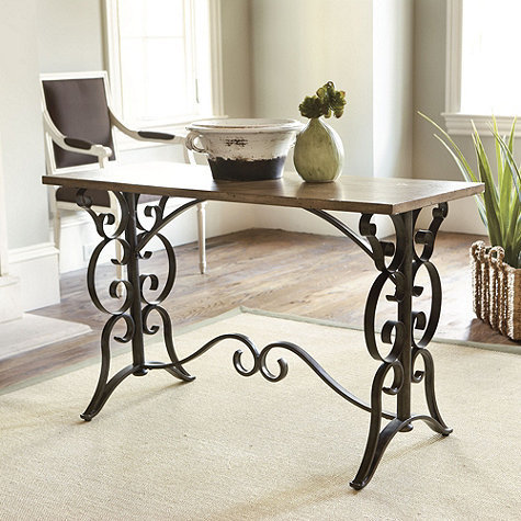 Scroll Table Desk Furniture Ballard From Ballard Designs