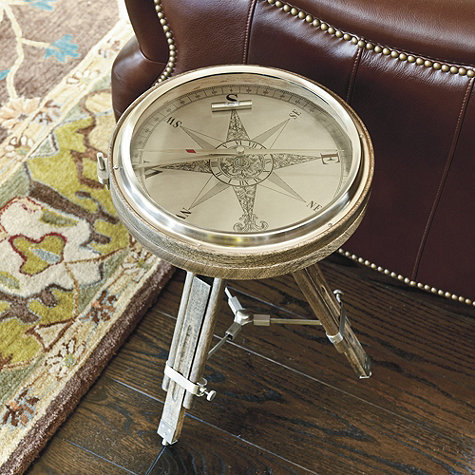 Compass Side Table | Tables | Ballard Designs